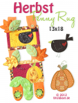 Herbst Penny Rugs ITH 13x18
