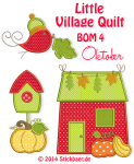 Little Village Quilt BOM 4