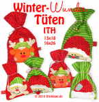Winter Wonder Bags ITH 5x7 + 6x10""