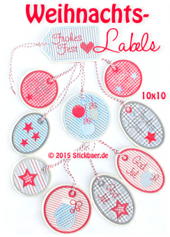 Christmas Labels ITH