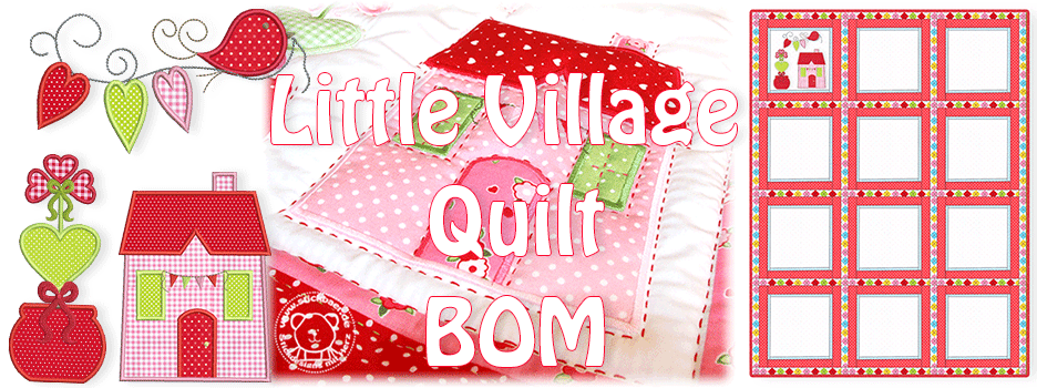 Little Village Quilt BOM 1