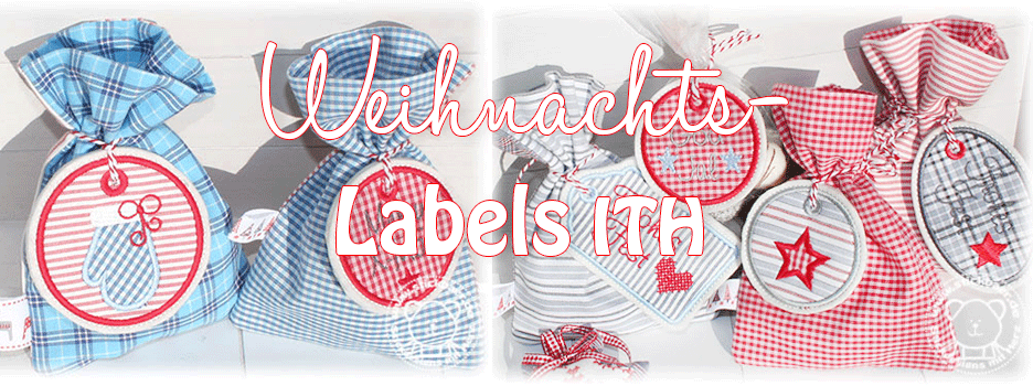 Weihnachts-Labels ITH