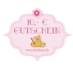 10 Euro Gift Certificate