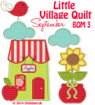 Little Village Quilt BOM 3
