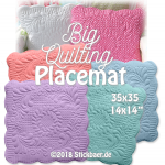 Big Quilting Placemat