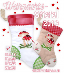Christmas Stocking 2019 all 4 size