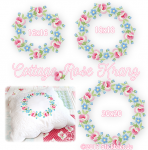 Cottage Rose Wreath all 3 size
