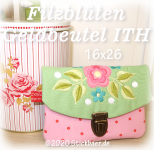 Felt Flowers Wallet ITH 6x10""