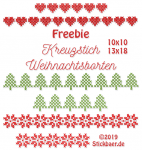 Freebie Christmas Borders