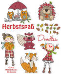 Fun in Autumn Doodles Set 1 13x18 + 16x26