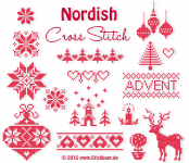 Nordish Cross Stitch all files 10x10 + 13x18