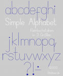 Simple Alphabet Lowercase Letters