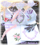 Vintage Lavender Bags ITH