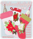 "Christmas Stocking 2020 5x7""+6x10"""