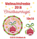 "Freebie ""Christbaumkugel"""