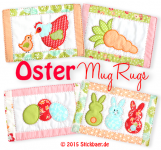 Oster Mug Rugs ITH 13x18