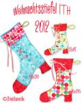 Christmas Stocking 2012 7 x 12