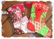 Christmas Stocking 1 - 5x7