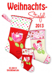 Christmas Stocking Set of 2 size 13x18+16x16