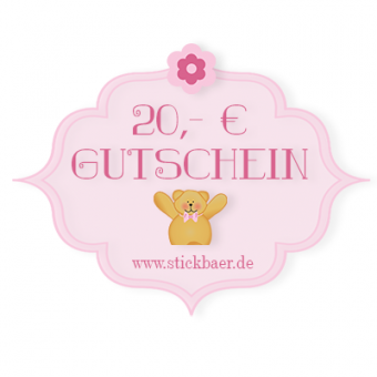 20 Euro Gift Certificate