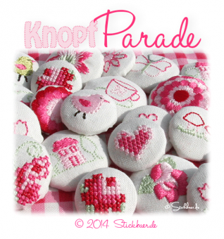 Cute Fabric Buttons