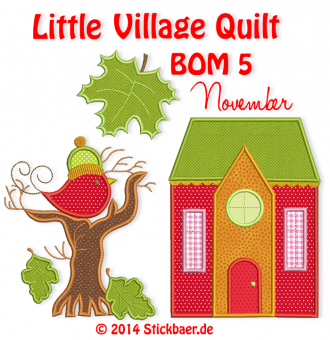 Little Village Quilt BOM 5
