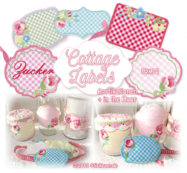 Cottage Labels ITH