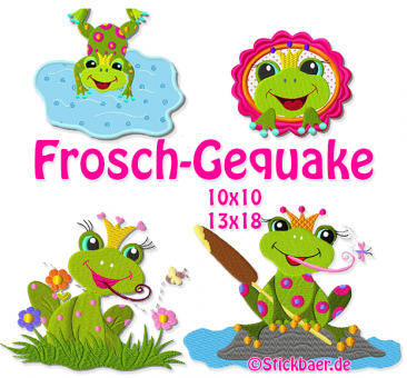 Frogs in the lake