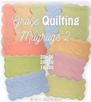 Big Quilting Mugrugs 2 ITH