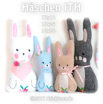 Little Bunny ITH all 3 sizes