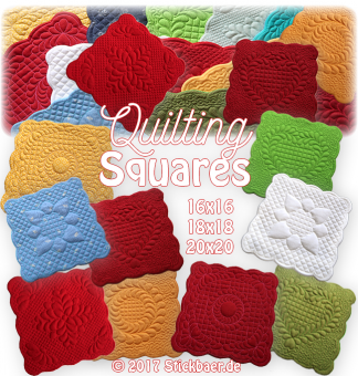Quilting Squares ITH 20x20