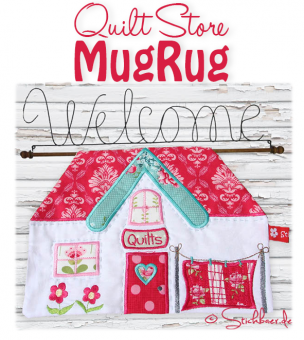Quilt Store Mugrug all 3 sizes