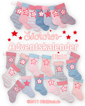 Stocking Advent Kalendar