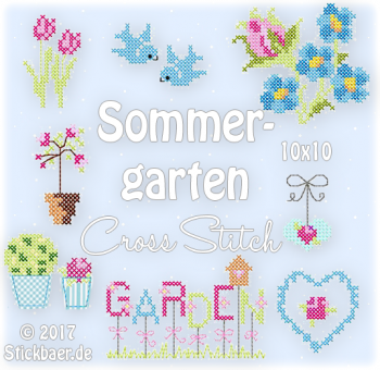 Summergarden Cross Stitch