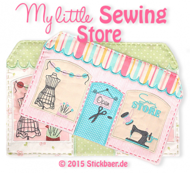 "Sewing Store Mugrug 5x7"" and 6x10"""