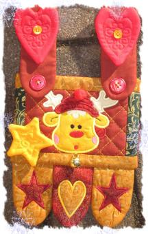 Weihnachts Penny Rugs ITH 13x18