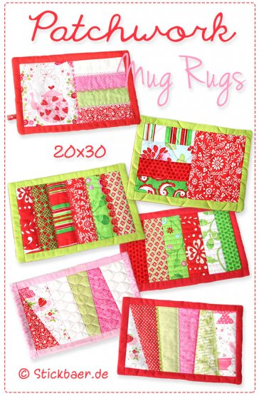 Patchwork Mugrugs 20x30