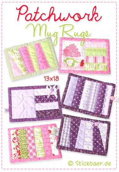Patchwork Mugrugs 13x18