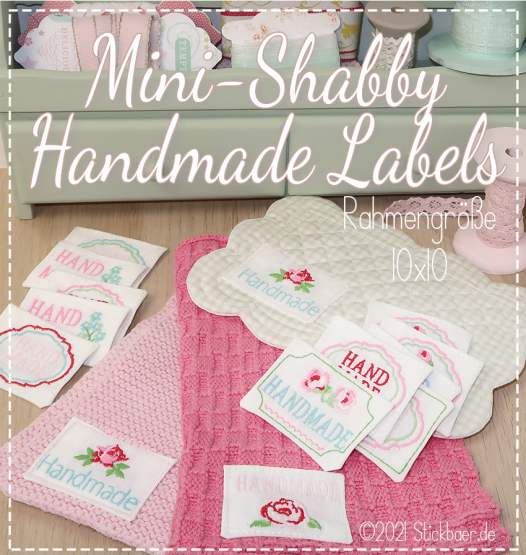 Mini Shabby Handmade Labels