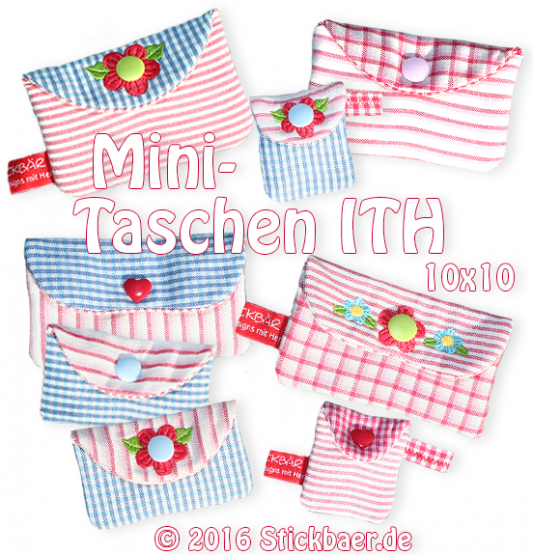 Lovely Mini Bags ITH