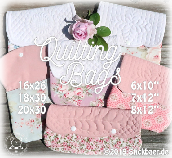 Quilting Bags ITH all 3 sizes