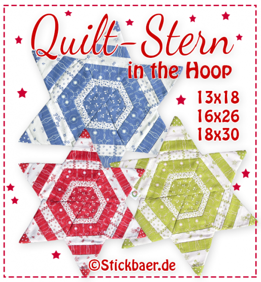 Quilt-Stern ITH