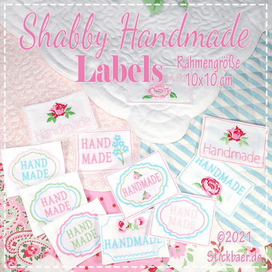 Shabby Handmade Labels