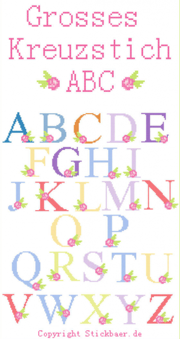 Big Crossstitch ABC