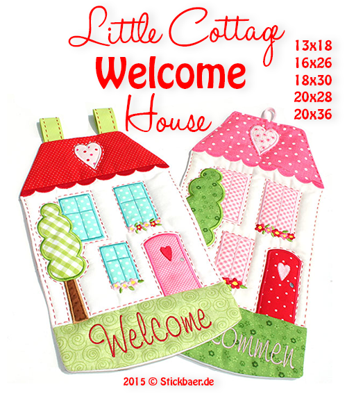 Little Cottage Welcome House 16x26
