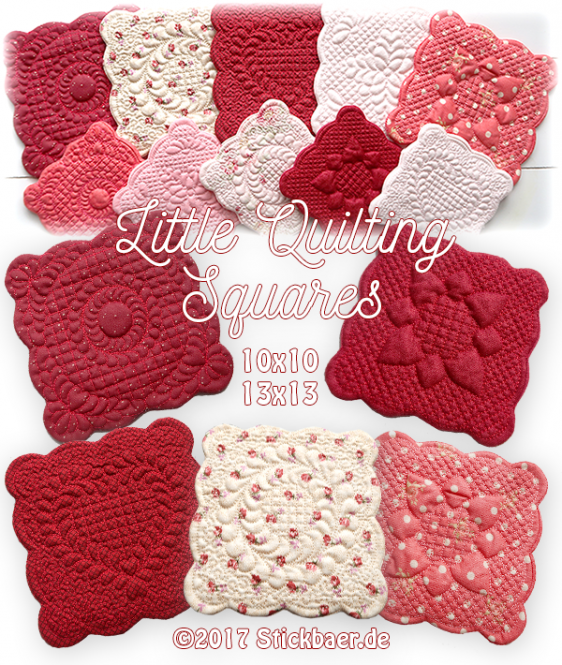 Little Quilting Squares ITH
