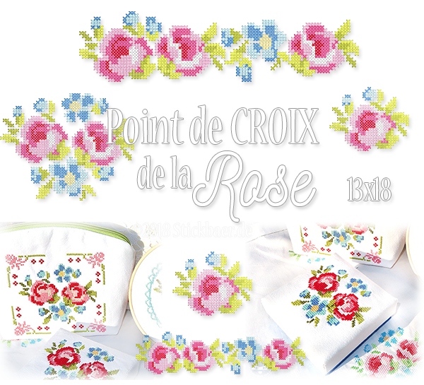 Point de Croix de la Rose