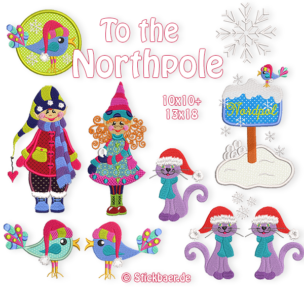 To the northpole