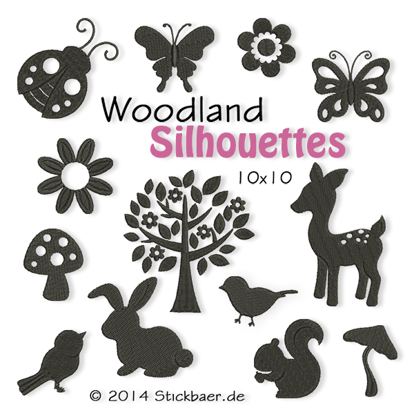 Woodland Silhouettes