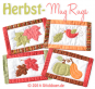 Autumn Mug Rugs ITH
